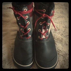 Keen buffalo print boots